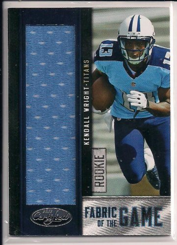 KENDALL WRIGHT TITANS 2012 CERTIFIED JERSEY RC #'D 039/199!