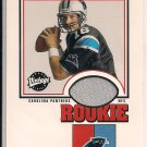 CHRIS WEINKE PANTHERS 2001 UD VINTAGE ROOKIE JERSEY CARD
