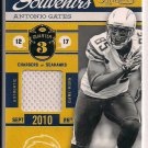 ANTONIO GATES CHARGERS 2011 TIMELESS TREASURES SOUVENIRS JSY