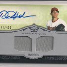 DANIEL HUDSON 2011 TOPPS MARQUEE JERSEY/AUTO