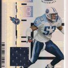 KEITH BULLOCK TITANS 2005 LEAF CERTIFIED MATERIAL JERSEY