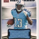 KENDALL WRIGHT TITANS 2012 ELITE NEW BREED ROOKIE JERSEY