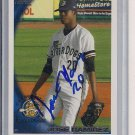 JOSE RAMIREZ RIVERDOGS 2010 TOPPS DEBUT AUTO