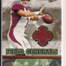 MATT LEINART CARDINALS 2007 FLEER ULTRA FIELD GENERALS JSY