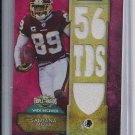 SANTANA MOSS REDSKINS 2012 TRIPLE THREADS JERSEY #'D 03/36!