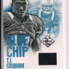 T.J. GRAHAM BILLS 2012 LIMITED SHOE PIECE RC #'D 13/49!