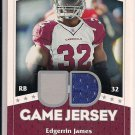 EDGERRIN JAMES 2007 UPPER DECK GAME JERSEY