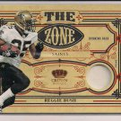 REGGIE BUSH 2010 CROWN ROYALE THE ZONE JERSEY#D 7/50!