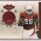 BEANIE WELLS CARDINALS 2011 PLATES & PATCHES JSY #'D 69/99!