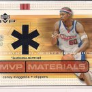 COREY MAGGETTE CLIPPERS 2003 UD MVP WARM-UP