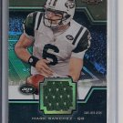 MARK SANCHEZ JETS 2011 TRIPLE THREADS JERSEY #'D 24/27!