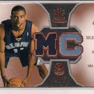 MIKE CONLEY GRIZZLIES 2007-08 SP ROOKIE THREADS DUAL JERSEY