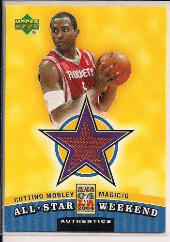 CUTINO MOBLEY MAGIC 2004 UPPER DECK ALL STAR WEEKEND JERSEY