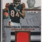 JERMAINE GRESHAM BENGALS 2010 R&S ROOKIE JERSEY (ORANGE)