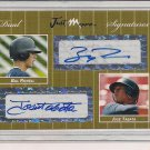 JOSE TABATA/BILL ROWELL 2007 JUST GOLD SIGNATURES #'D 02/10!