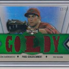 PAUL GOLDSCHMIDT 2012 TRIPLE THREADS JERSEY #'D 12/18!