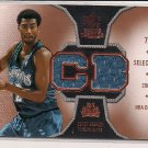 COREY BREWER 2007 SP ROOKIE THREADS JERSEY