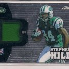 STEPHEN HILL JETS 2012 TOPPS CHROME RC JERSEY