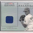 CLAY BUCHHOLZ 2007 TRISTAR ELEGANCE ROOKIE JERSEY CARD
