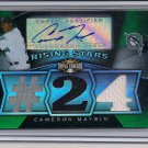 CAMERON MAYBIN MARLINS 2009TRIPLE THREADS JSY/AUTO #'D30/50!