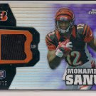 MOHAMMED SANU BENGALS 2012 TOPPS CHROME RC JSY #'D 32/75!