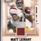 """MATT LEINART USC 2006 SAGE """"MY LAST COLLEGE JERSEY"""""""