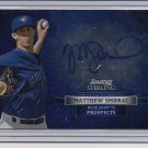MATTHEW SMORAL JAYS 2012 BOWMAN STERLING PROSPECTS AUTO