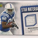 MARVIN HARRISON 2006 UPPER DECK STAR MATERIALS JERSEY