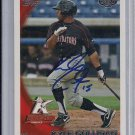 KYLE COLLIGAN WHITE SOX 2010 TOPPS DEBUT AUTO