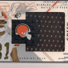 WILLIAM GREEN BROWNS 2002 SPX WINNING MATERIALS RC JERSEY