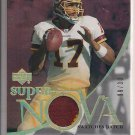 JASON CAMPBELL REDSKINS 2007 TRILOGY SUPER NOVA PATCH #'9/33