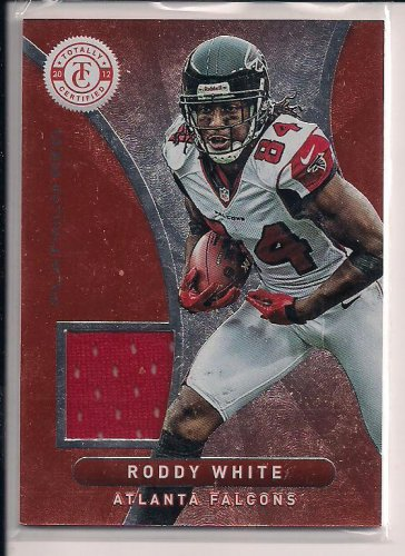 RODDY WHITE FALCONS 2012 TOTALLY CERTIFIED JERSEY