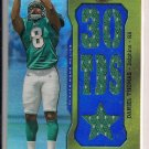 DANIEL THOMAS DOLPHINS 2011 TRIPLE THREADS RELIC #'D 29/36!