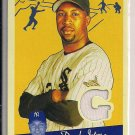 JERMAINE DYE WHITE SOX 2008 UD GOUDEY JERSEY CARD