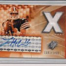 LUKE MCCOWN BROWNS 2004 SPXCITING ROOKIE AUTO JERSEY