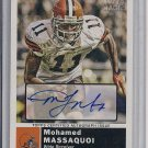 MOHAMED MASSAQUOI BROWNS 2010 TOPPS MAGIC AUTORGRAPH