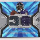 TROY SMITH RAVENS 2007 SPX WINNING MATERIALS JERSEY