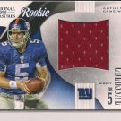 RHETT BOMAR GIANTS 2009 NATIONAL TREASURES COLOSSAL JSY RC #'D 18/50!