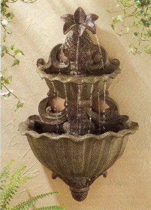 Pineapple Wall Fountain