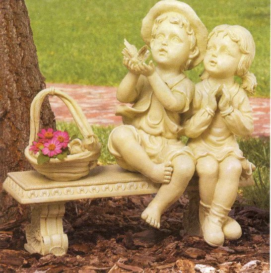 Childhood Garden Sculpture NEW PRICE!!!