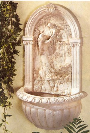 Guardian Angel Wall Fountain