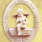 Cherub Welcome Plaque
