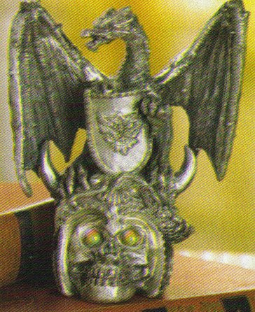 Dragon On Skull Figurine NEW ITEM!