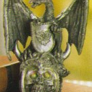 Dragon On Skull Figurine NEW ITEM!