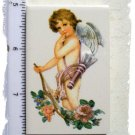 Mosaic Tiles - Charming ~*CHERUB with ARROW~ Kiln Fired