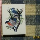 Mosaic Tiles*~BLUE BIRDS * 1 Sq HM Kiln Fired