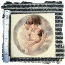 Beautiful~ MOTHER & CHILD #2~HM Lg. Unique Mosaic Tiles