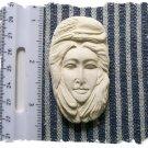 SB1 Mosaic Tiles ~FEATHER LADY~ Kiln Fired U Paint
