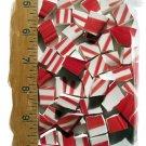 *~RED-WHITE STRIPE~*80+  HC China  Mosaic Tiles