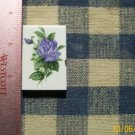Mosaic Tiles*~ELEGANT BLUE ROSE * 1 Sq HM Kiln Fired